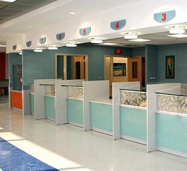 Healthcare - Registration Desks